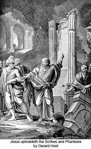 Jesus Upbraideth the Scribes and Pharisees by Gerard Hoet