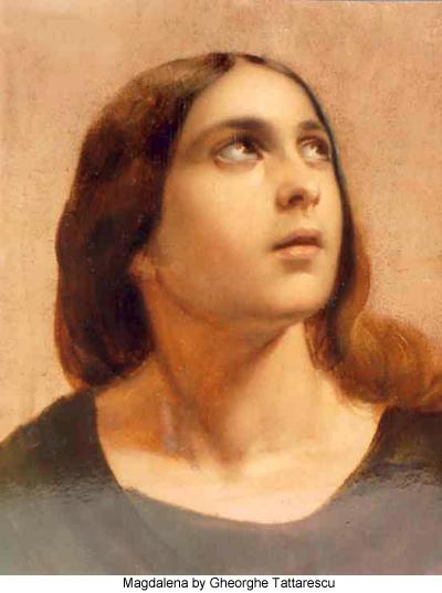 Magdalena by Gheorghe Tattarescu