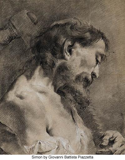 Simon by Giovanni Battista Piazzetta