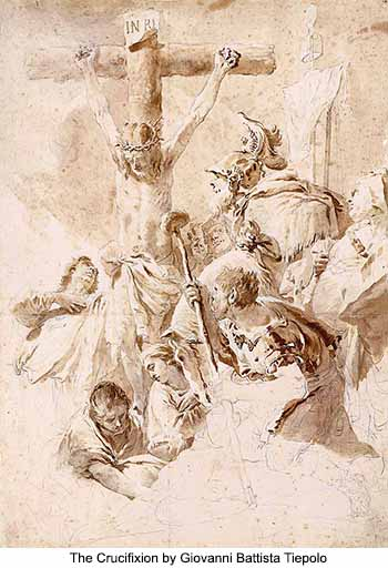 The Crucifixion by Giovanni Battista Tiepolo