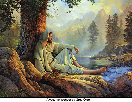 Awesome Wonder by Greg Olsen