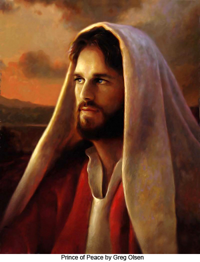 Prince of Peace by Greg Olsen