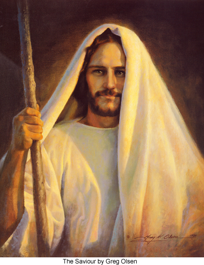The Saviour by Greg Olsen