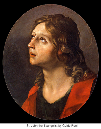 St. John the Evangelist by Guido Reni