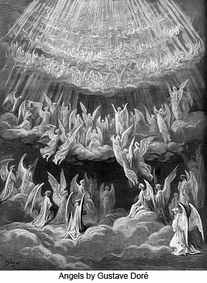 Angels by Gustave Doré