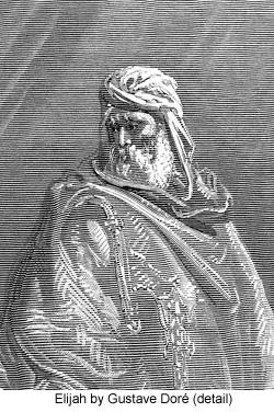 Elijah by Gustave Doré