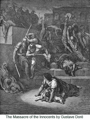 The Massacre of the Innocents by Gustave Doré