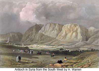 Antioch in Syria from the South West by H. Warren