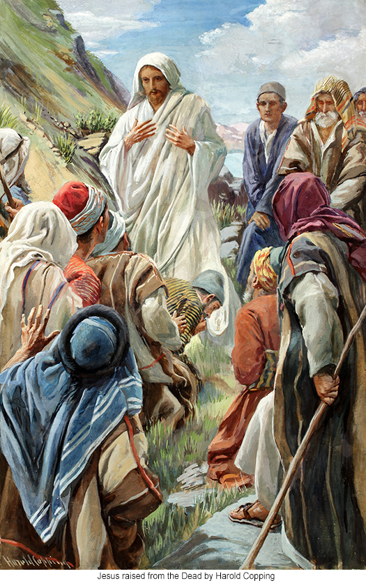 Jesus raised from the Dead by Harold Copping