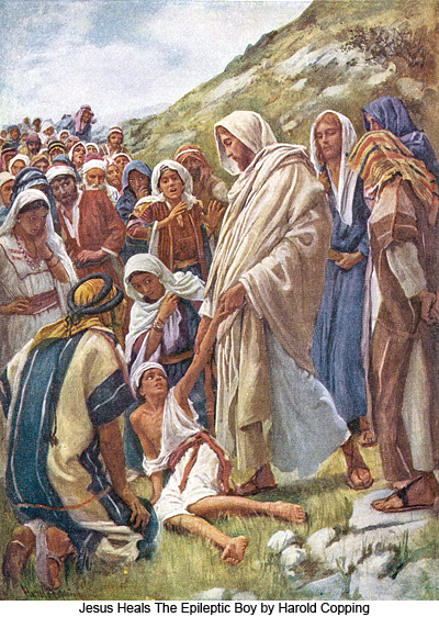 Harold_Copping_Jesus_Heals_The_Epileptic_Boy_400 - New Christmas Tradition - Bible Study