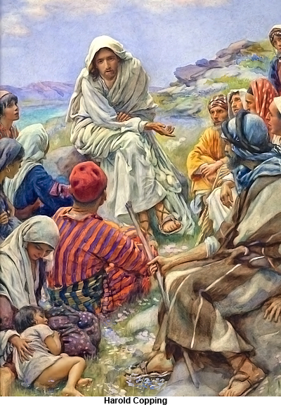 Sermon on the Mount by Harold Copping