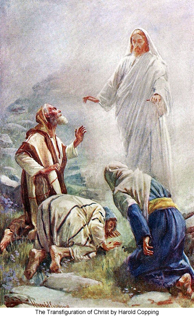 The Transfiguration of Christ by Harold Copping