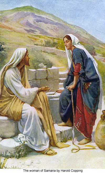 clipart jesus and the woman at the well - photo #13