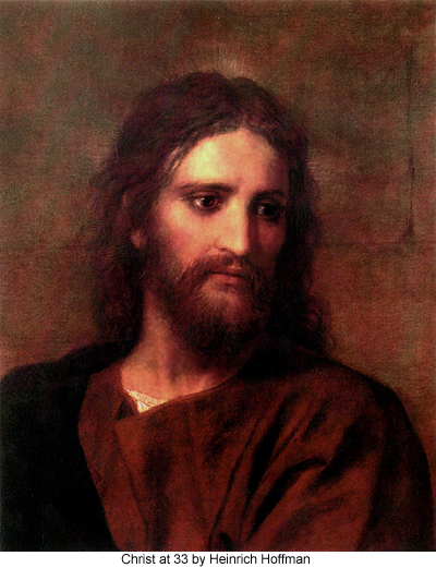 Christ at 33 by Heinrich Hoffman