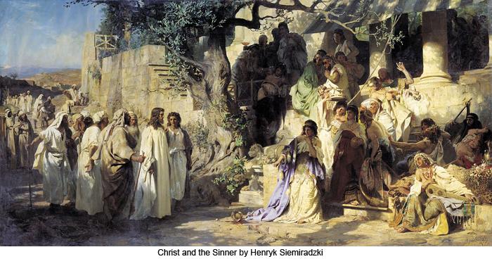 Christ and the Sinner by Henryk Siemiradzki