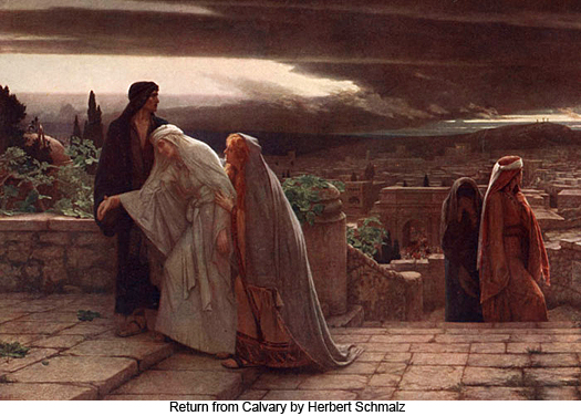 Return from Calvary by Herbert Schmalz