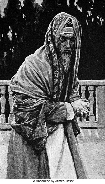 A Sadducee by James Tissot