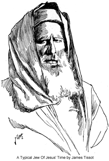 A Typical Jew Of Jesus' Time by James Tissot