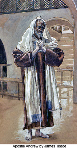 Apostle Andrew by James Tissot