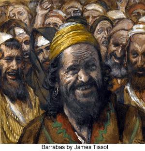 Barabbas by James Tissot