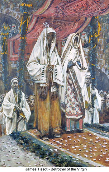 Betrothal of the Virgin by James Tissot