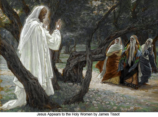 Christ Appears to the Holy Women by James Tissot