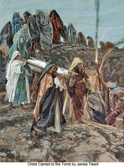 Christ Carried to the Tomb by James Tissot