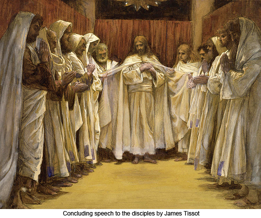 Concluding speech to the disciples by James Tissot