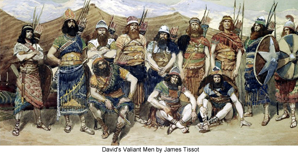David's Valiant Men by James Tissot