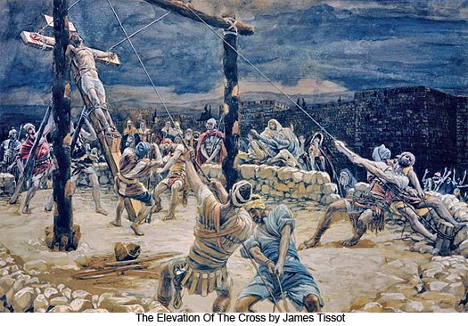 The Elevation Of The Cross by James Tissot