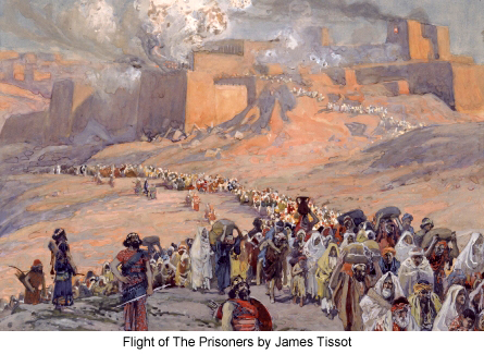 Flight of The Prisoners by James Tissot