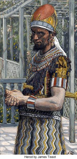 Herod by James Tissot
