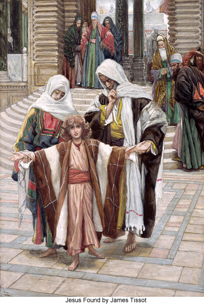 Jesus Found by James Tissot