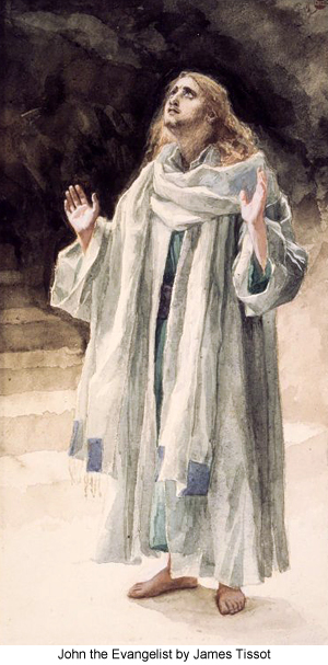 John the evangelist by James Tissot