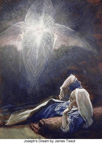 Joseph's Dream by James Tissot