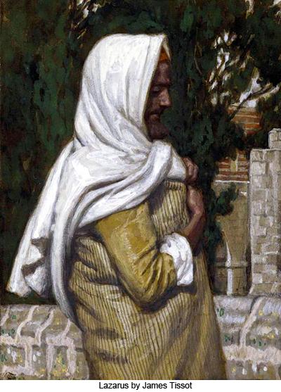 Lazarus by James Tissot