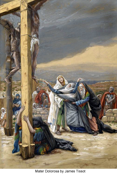 Mater Dolorosa by James Tissot