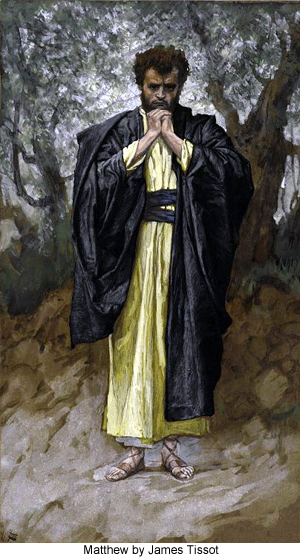 Matthew by James Tissot