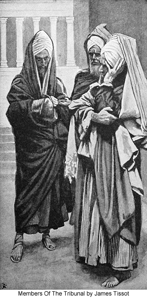 Members of the Tribunal by James Tissot