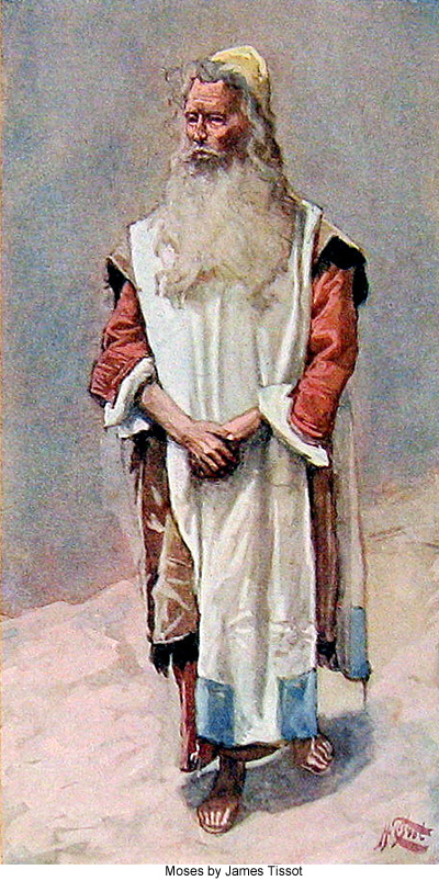 Moses by James Tissot