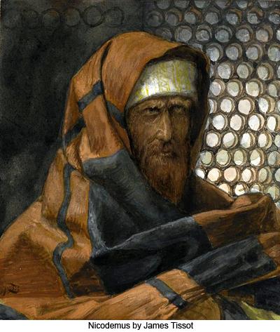 Nicodemus by James Tissot