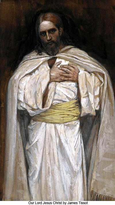 Our Lord Jesus Christ by James Tissot