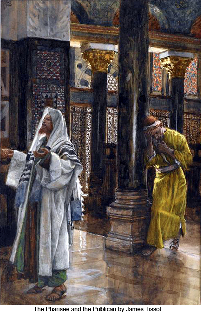 Pharisee and the Publican by James Tissot