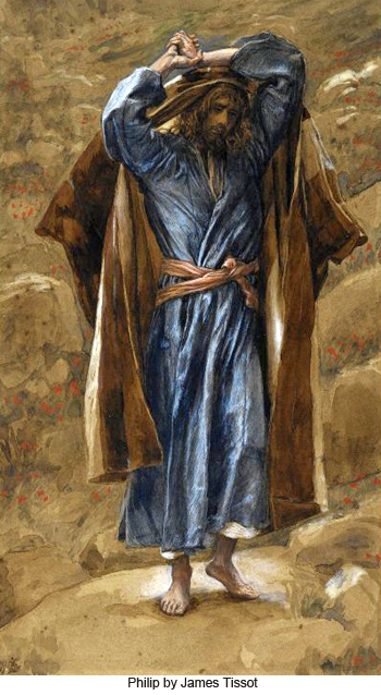Philip by James Tissot