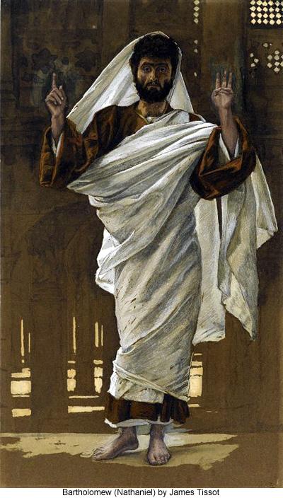 Bartholomew (Nathaniel) by James Tissot