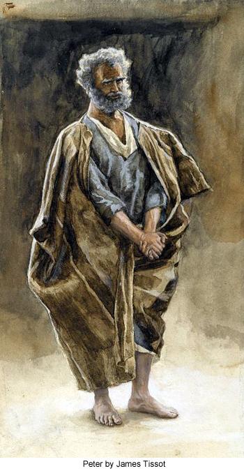 Saint Peter by James Tissot