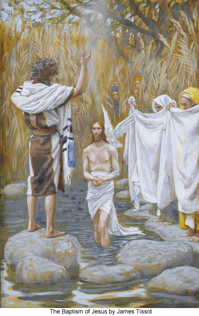 The Baptism of Jesus by James Tissot
