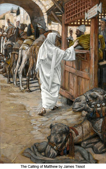 The Calling of Matthew and James by James Tissot
