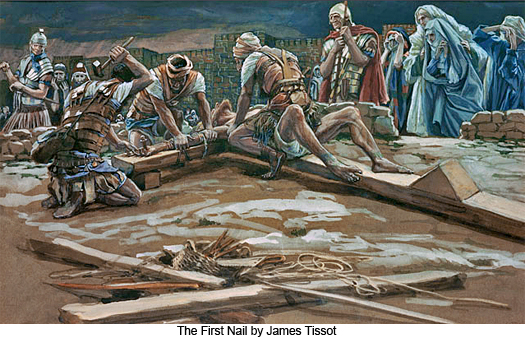 The First Nail by James Tissot