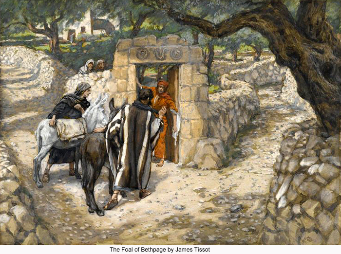 The Foal of Bethphage by James Tissot